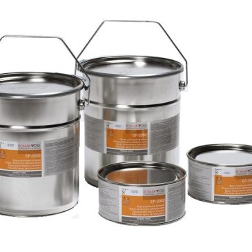 Epoxyharsen en epoxy pigmentpasta's